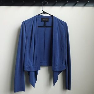 BCBG MaxAzria Donnie Draped-Front Jacket